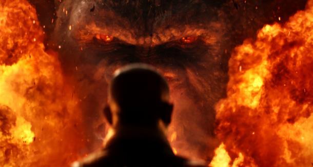 Samuel L. Jackson fronteggia Kong