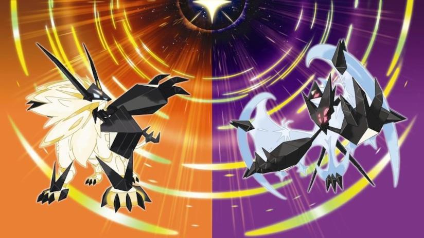 La cover di Pokémon Ultrasole e Ultraluna