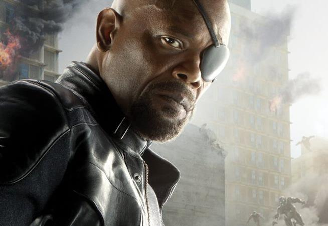 Character poster di Avengers: Age of Ultron dedicato a Nick Fury