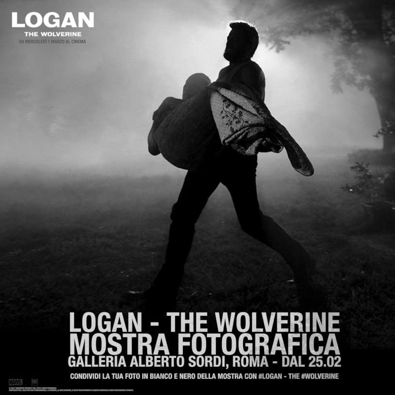 Logan - The Wolverine: la mostra alla Galleria Alberto Sordi di Roma