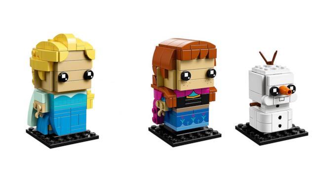 LEGO BrickHeadz: i personaggi di Elsa, Anna e Olaf