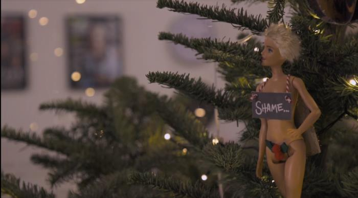 Una delle decorazioni dell'albero di Natale a tema Game of Thrones