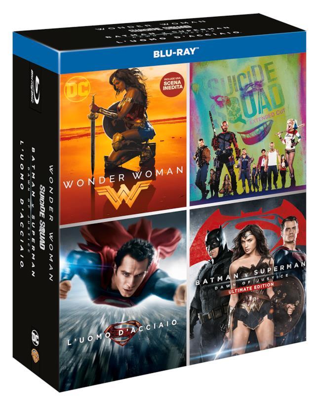 Il cofanetto DC 4 Movies Boxset