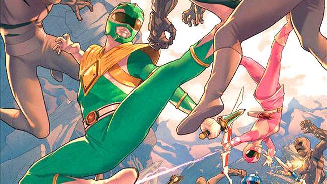 I protagonisti della serie Mighty Morphin Power Rangers