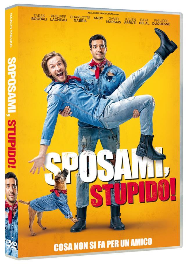 La copertina del DVD di Sposami, Stupido!