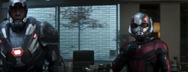 War Machine e Ant-Man insieme nello spot del Super Bowl