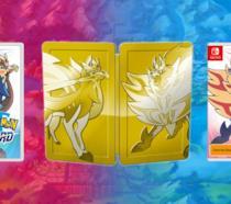 La steelbook dorata di Pokémon Spada e Scudo