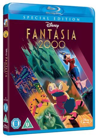 Copertina dell'edizione Blu-ray di Fantasia 2000