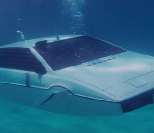 La Lotus Esprit del 1976 vista nel film La spia che mi amava