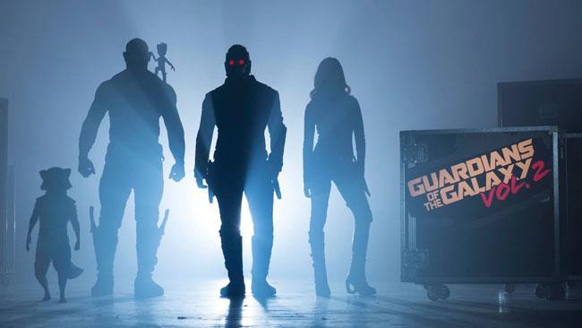 La prima immagine di Guardiani della Galassia Vol. 2