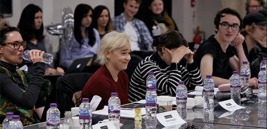 Emilia Clarke e il cast di GoT 8