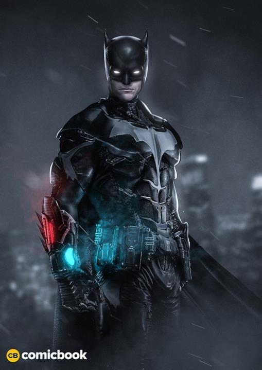 BossLogic mette Robbie Amell nei panni di Batman