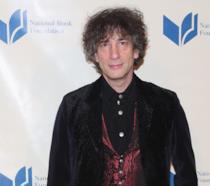 Lo scrittore Neil Gaiman
