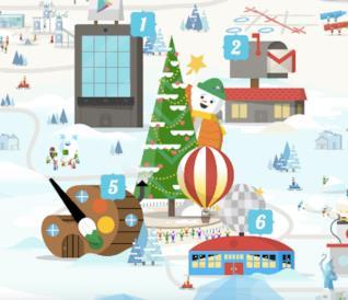 Google Santa Tracker 2017