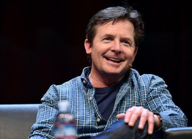 L'attore americano Michael J. Fox