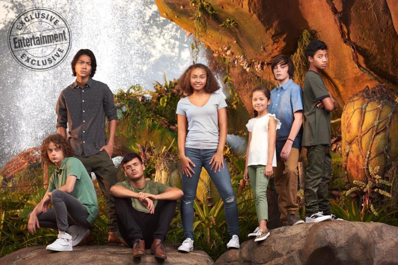 I giovani protagonisti dei quattro sequel di Avatar