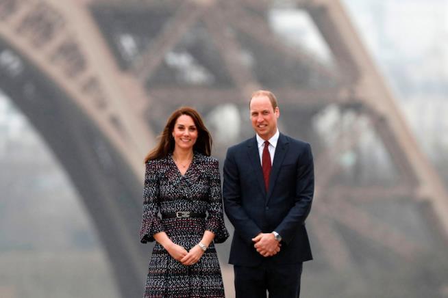 Kate Middleton e il Principe William a Parigi