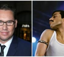 Il regista Bryan Singer e Rami Malek