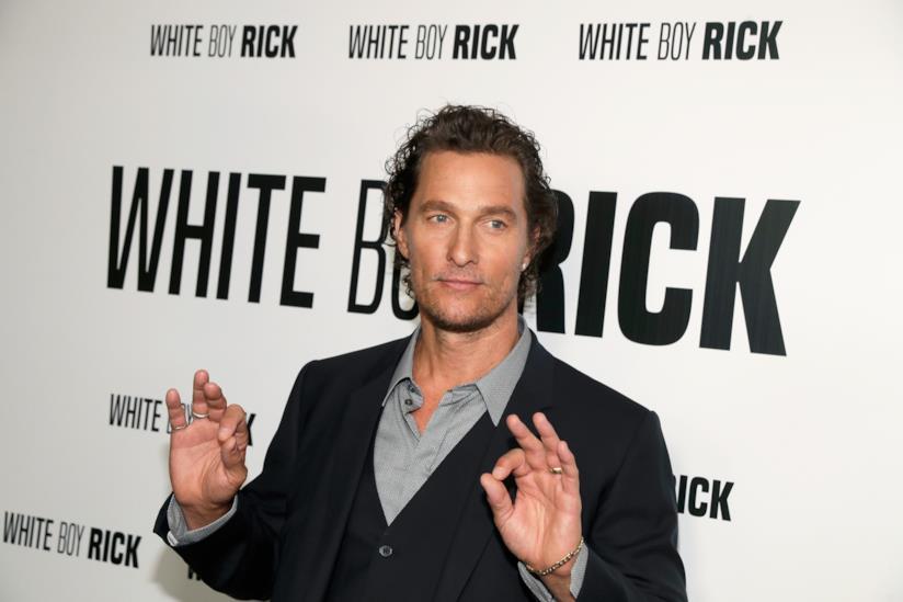 Matthew McConaughey a un evento