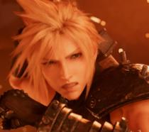 Cloud Strife nel remake di Final Fantasy VII per PS4
