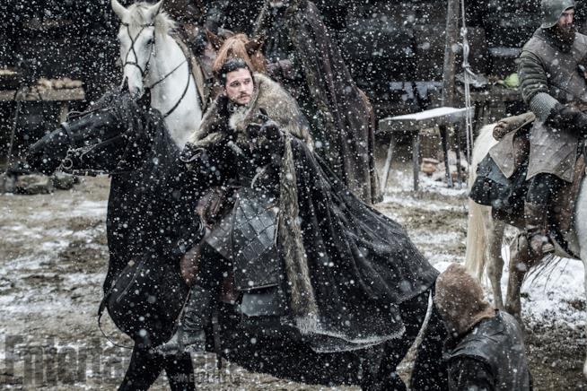 GoT 7: Jon Snow sotto la neve