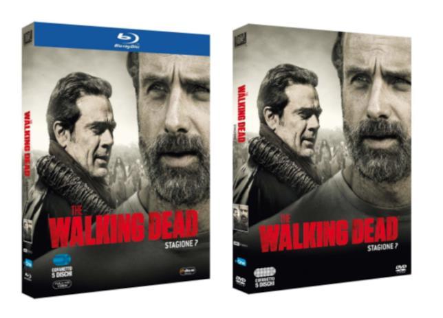 Le edizioni Home Video della settima stagione di The Walking Dead