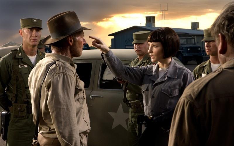 Harrison Ford in Indiana Jones e il teschio di cristallo