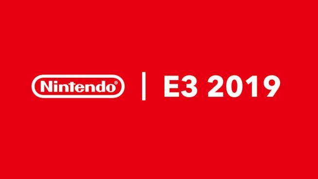 Il logo di Nintendo per l'E3 2019