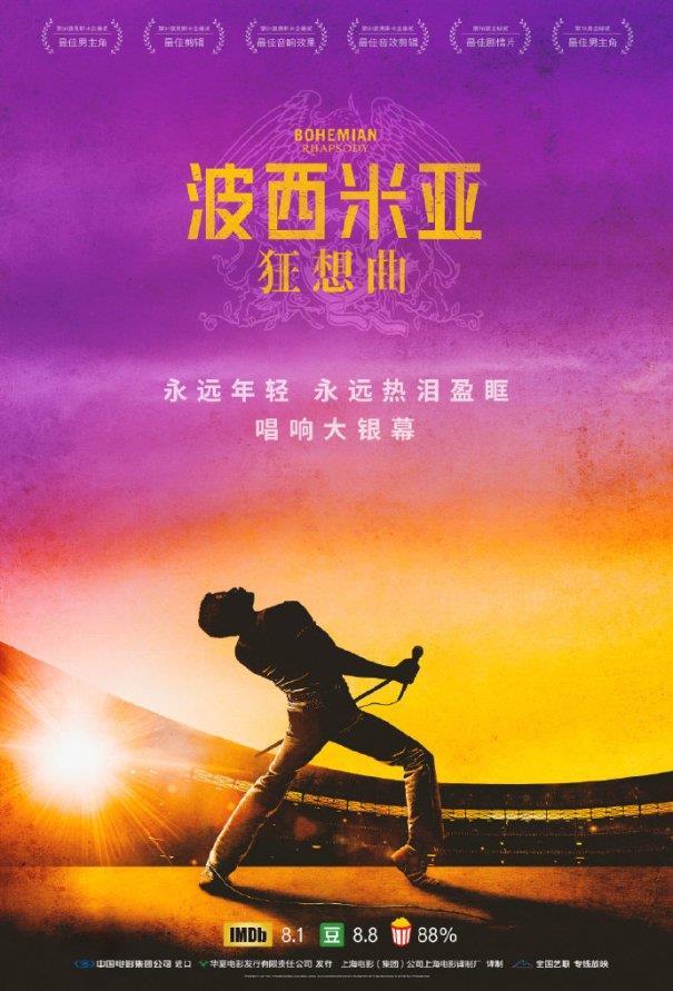 Bohemian Rhapsody arriva in Cina
