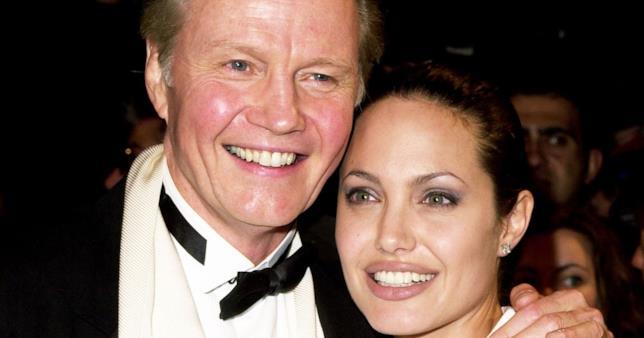 Angelina Jolie e suo padre Jon Voight