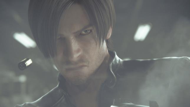 Leon Scott Kennedy in Resident Evil: vendetta.