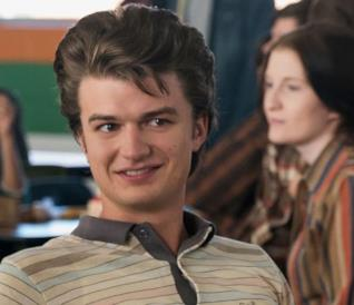 Joe Keery nei panni di Steve Harrington