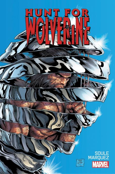La cover regular realizzata da Marvel per The Hunt For Wolverine