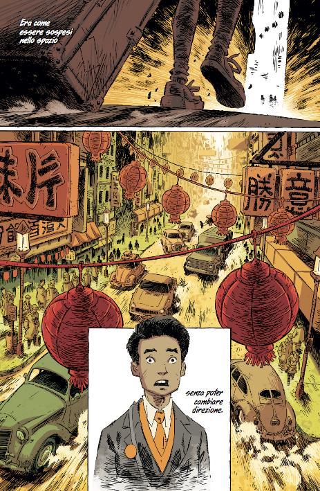 L'arrivo di Chinglei a Shu in Trees