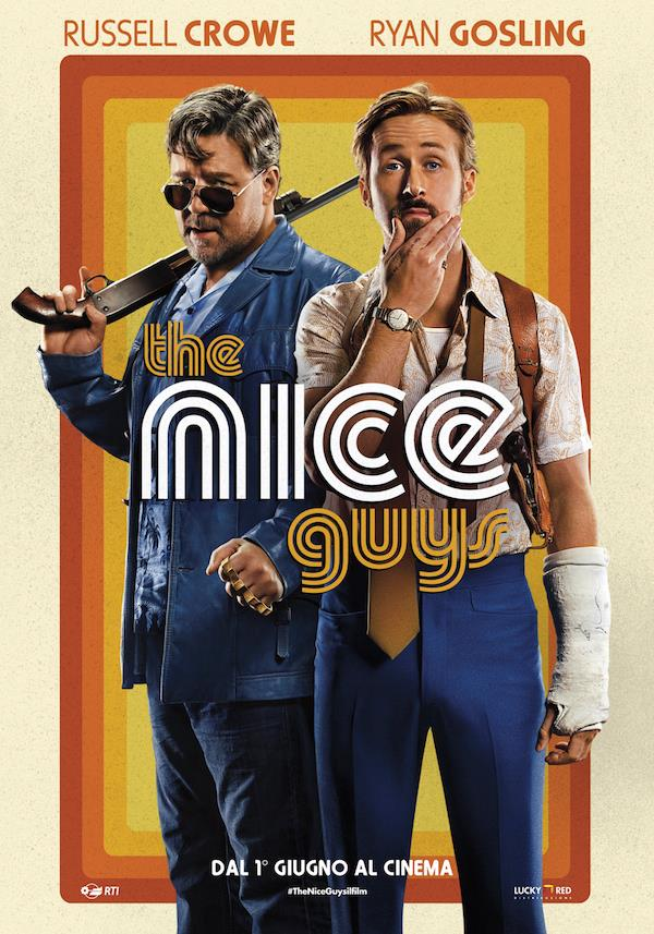 The Nice Guys, Crowe e Gosling sono alle prese con una tipa tosta