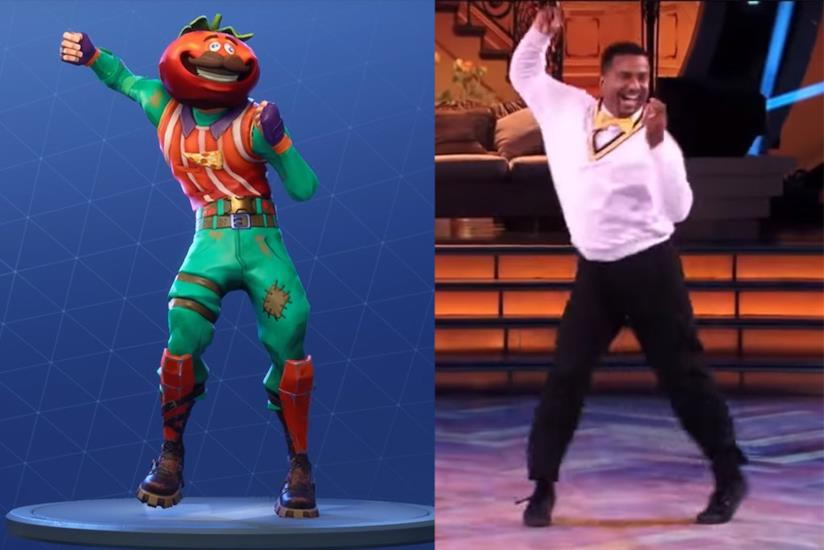 La Carlton's Dance in Fortnite e l'originale