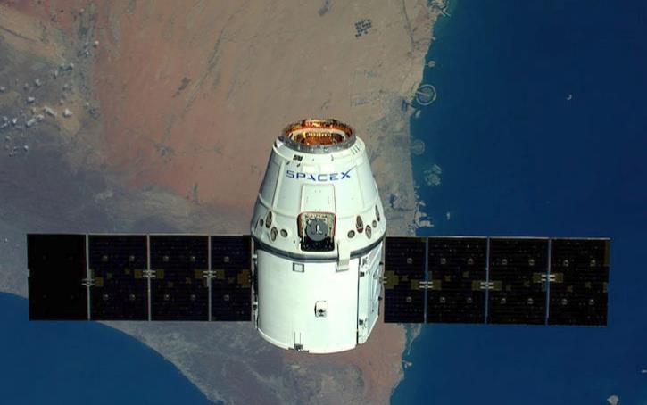 La capsula Dragon di SpaceX