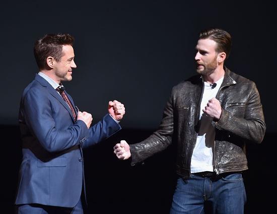 Civil War fuori dal set