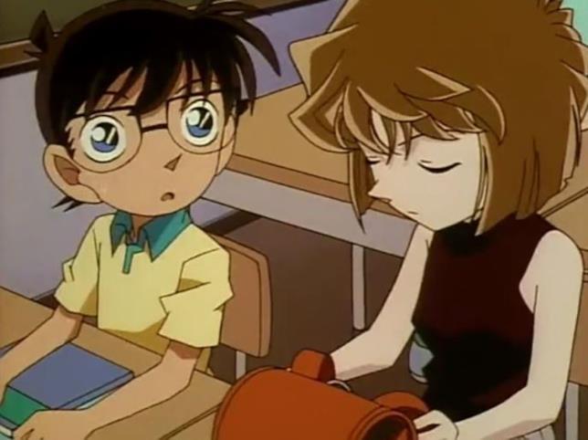 Conan incontra per la prima volta Ai