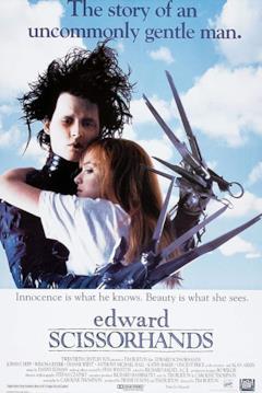 Edward e Kim sulla locandina del film
