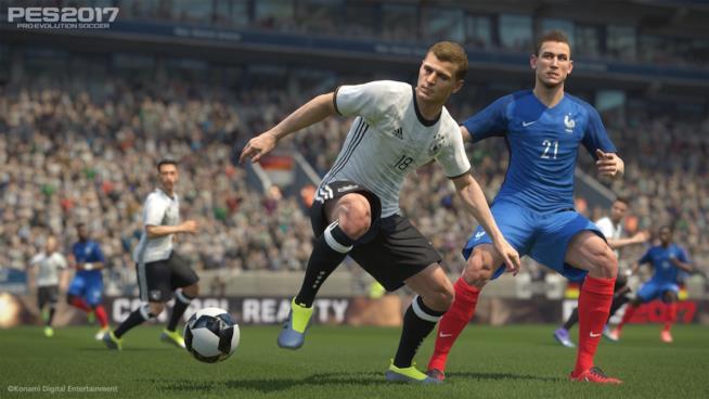 PES 2017, prime immagini del gioco