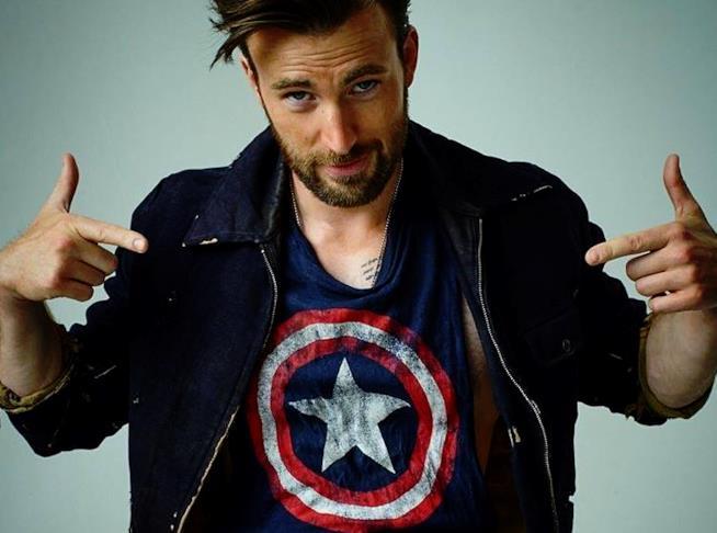 Captain America: Chris Evans