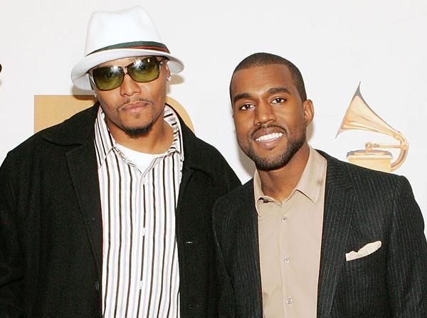 Malik Yusef con Kanye West