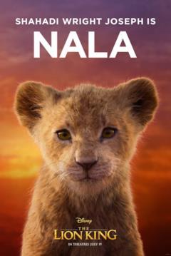 character poster di Nala cucciola