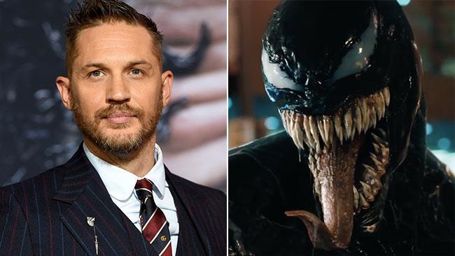Tom Hardy e il simbionte Venom