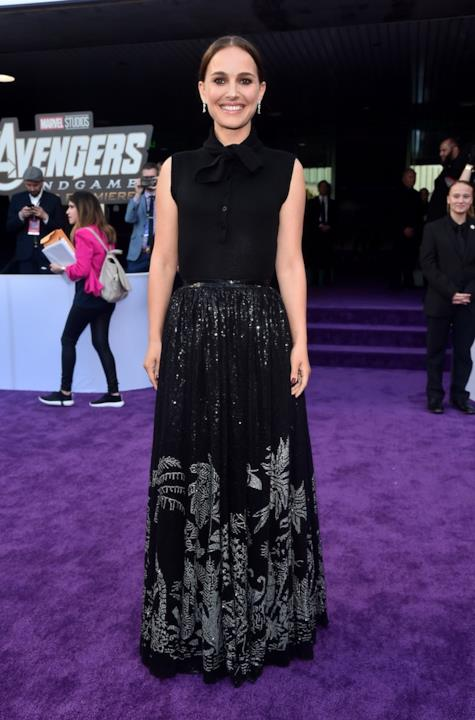 Natalie Portman sul red carpet di Avengers: Endgame