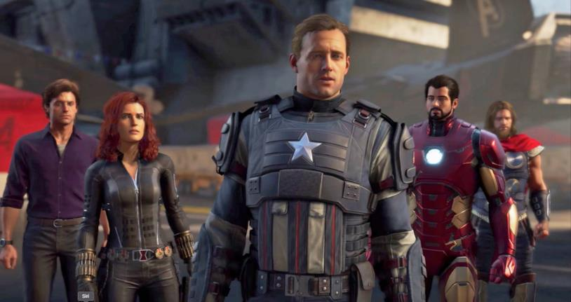 Avengers Lucca Comics videogame