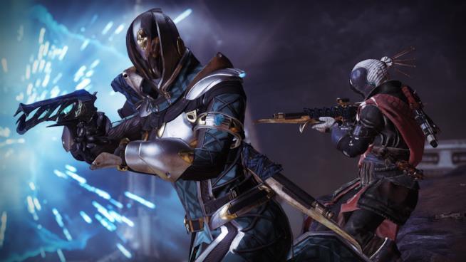 Alcune delle nuove armature introdotte dall'ultimo DLC di Destiny