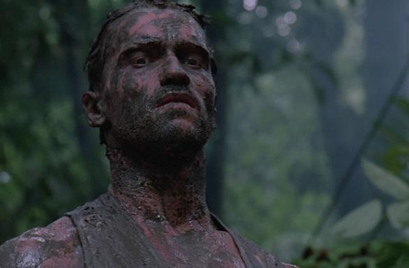 Arnold Schwarzenegger in Predator del 1987