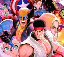 Alcuni dei lottatori di Marvel Vs. Capcom 3